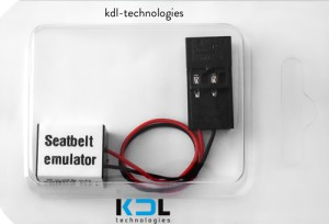 Seatbelt emulator for EU BMW E60 up to 2003/5