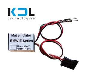 European BMW 1 Series E81 E82 E87 E88 seat occupancy sensor emulator