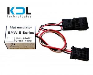BMW E60 E61 seat occupancy sensor emulator with a seat belt simulator - US/ EU