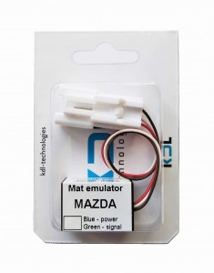 Seat occupancy sensor emulator for MAZDA 626