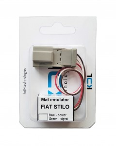 Seat occupancy sensor emulator Fiat Stilo