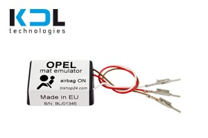 Seat occupancy sensor emulator for OPEL, EUROPEAN version