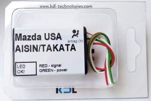 Seat occupancy sensor emulator for MAZDA USA