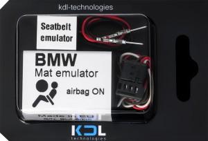 Seat Occupancy Mat Emulator For BMW E90 E91 E87 E88 E60 E63 Airbag Sensor Bypass