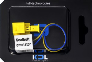 Seatbelt emulator for Mercedes C W203 2006-2007