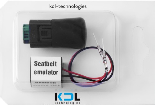 Mat emulator BMW E60, E61, E63 + seat belt emulator terminals