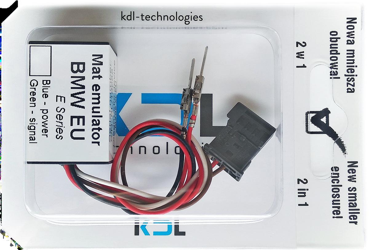 European BMW 3 Series E90 E91 E92 E93 seat occupancy sensor emulator