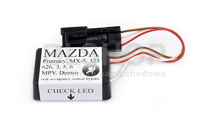 Mazda 3 323 Airbag Sitzbelegungsmatte Sitzerkennung SRS Simulator PLUG /& PLAY!